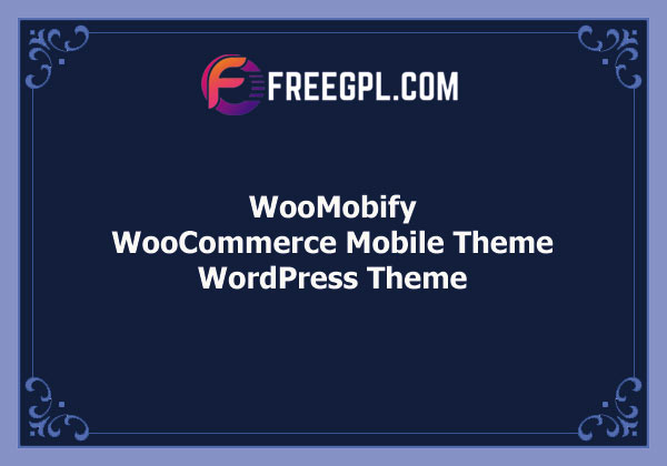 WooMobify – WooCommerce Mobile Theme Free Download
