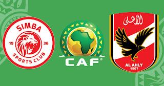 مشاهدة مباراة الاهلي ضد سيمبا 09-04-2021 بث مباشر في دوري أبطال أفريقيا