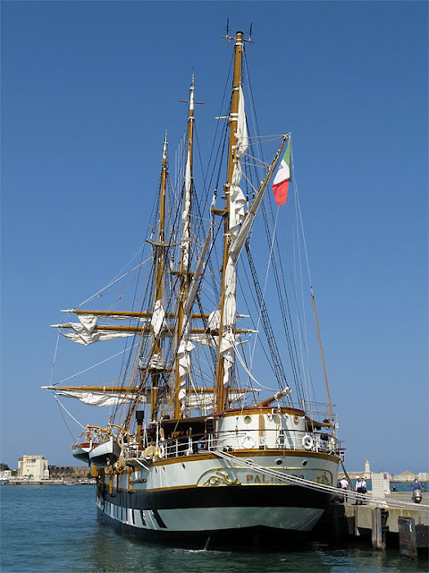 School ship Palinuro, Livorno
