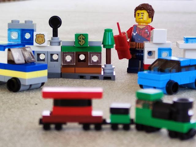 Lego city explota