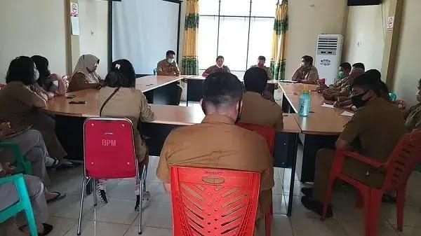 DPM Pemdes Sanggau Gelar Rapat Tentang Kedisiplinan