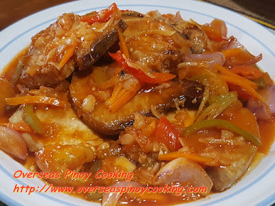 Sweet and Sour Swordfish