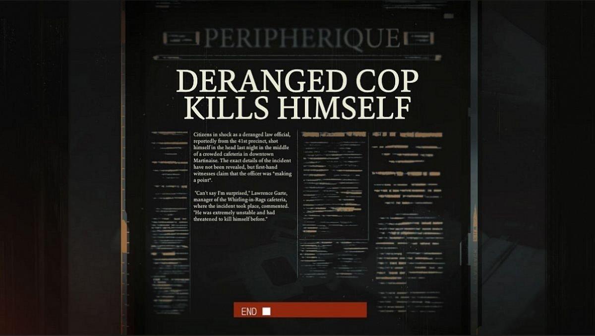 Deranged Cop Kills Himself