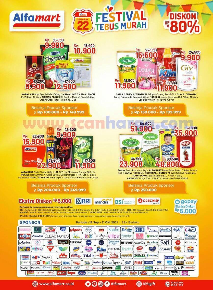 Katalog Alfamart Promo Terbaru 16 - 30 September 2021 2