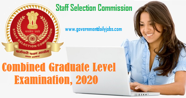 SSC CGL Recruitment 2020-2021