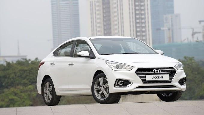 Hyundai Accent 2021. Màu trắng. Mới 99%