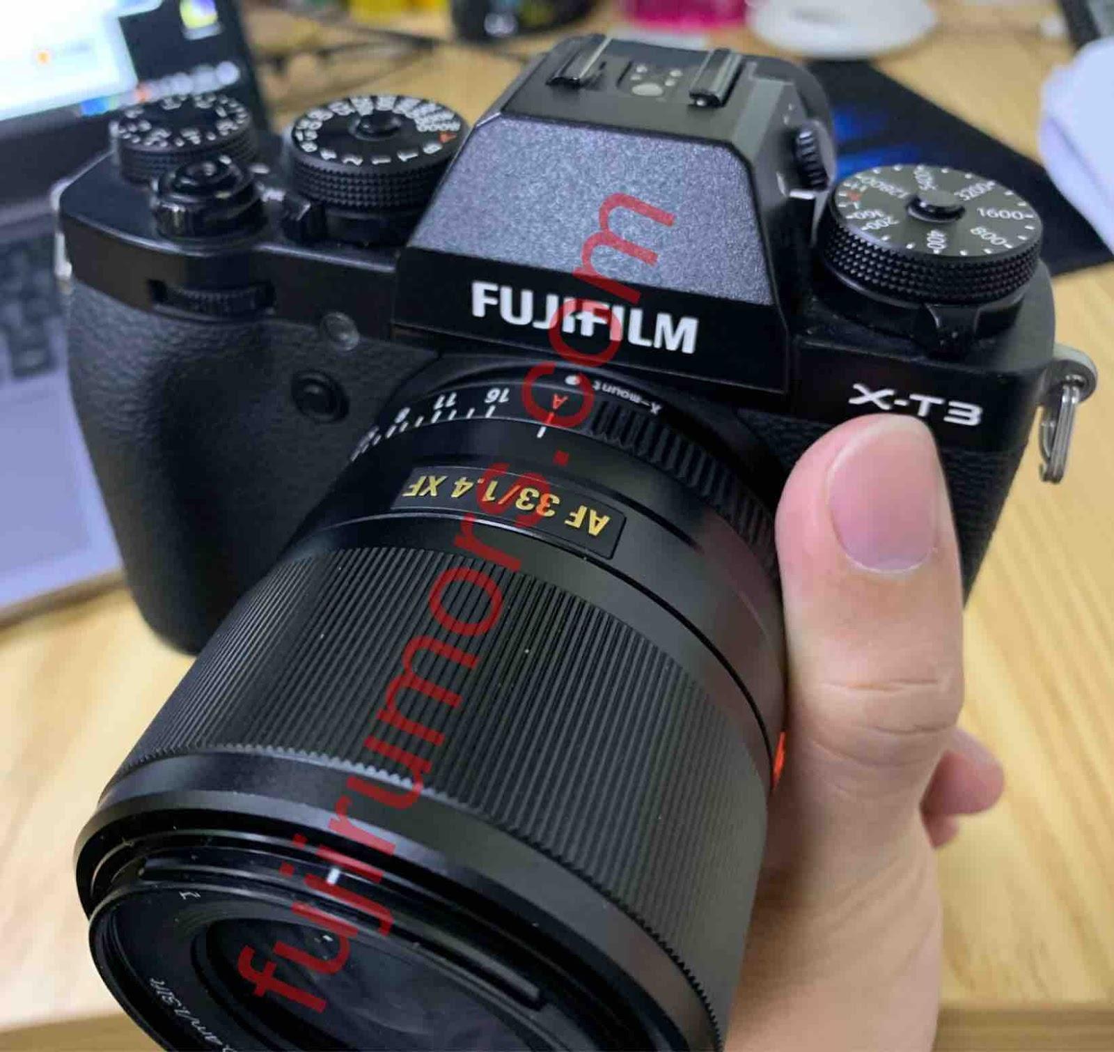 Vitrox 56mm f/1.4 с камерой Fujifilm X-T3