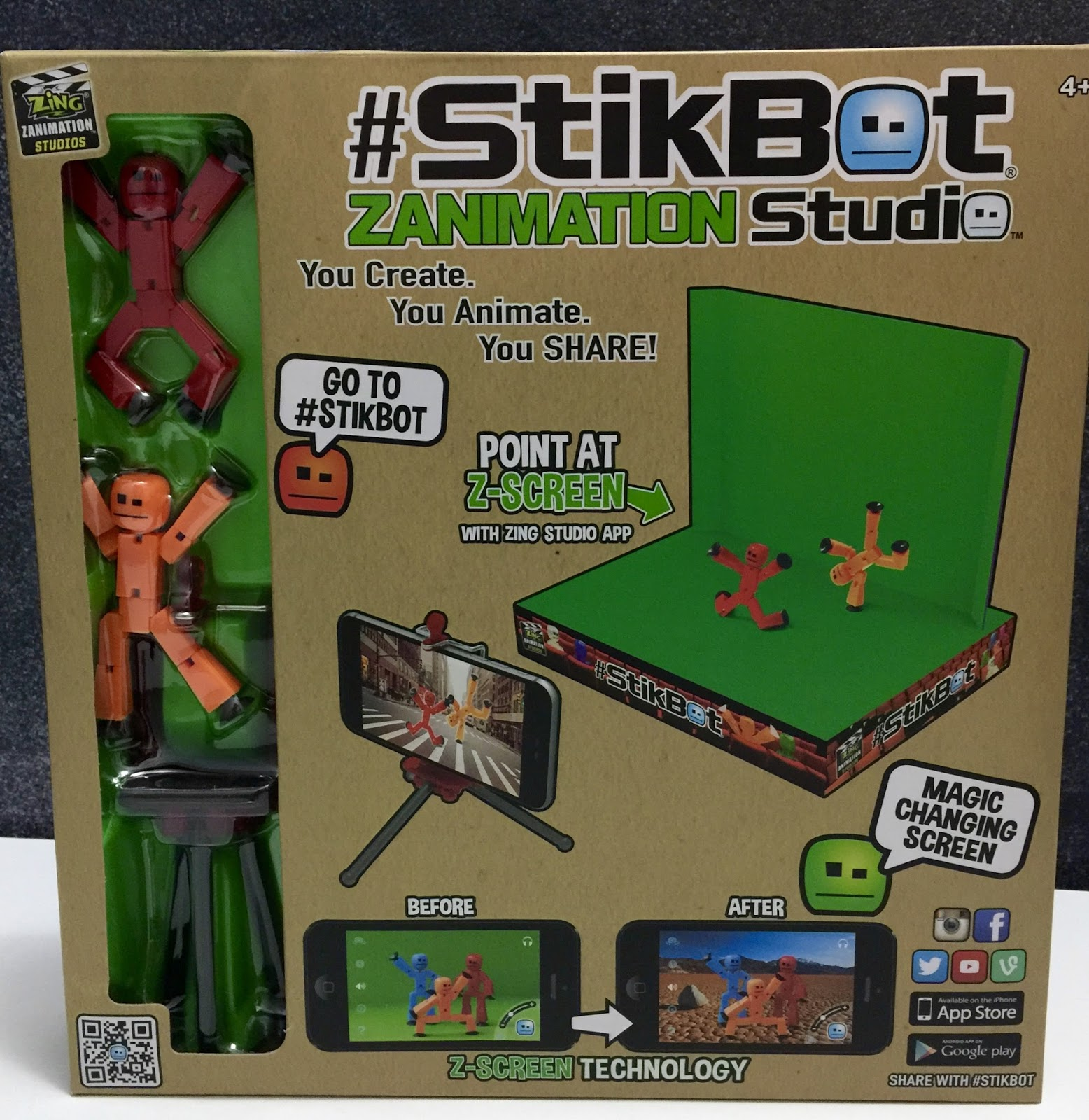 day to day MOMents: StikBot Zanimation Studio & Action Packs