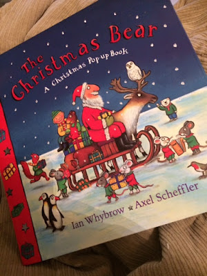 Christmas Bear book