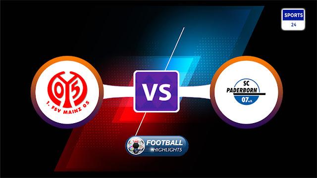 Mainz 05 vs Paderborn – Highlights
