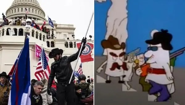 The Simpson Cartoon Also Predicted an Attack on Capitol Hill