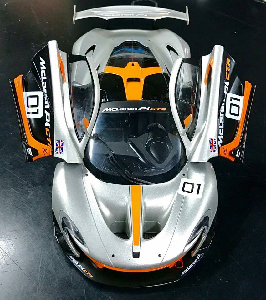 Sadly The Model Will Not Have An Opening Engine Cover Because Of Agreement With Mclaren Enjoy Photos