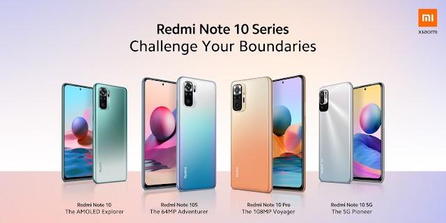 ท้าทายทุกข้อจำกัดของคุณไปกับ Redmi Note 10 Series ใหม่ล่าสุด เปิดตัวแล้วในอินเดีย