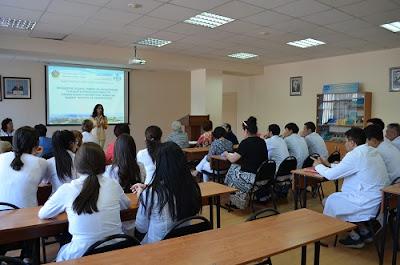 Class Room of Kazakh-Russian Medical University