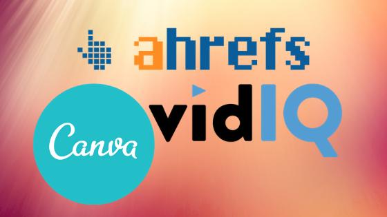 Как получить платные инструменты бесплатно или дешево ahrefs, vidiq, canva