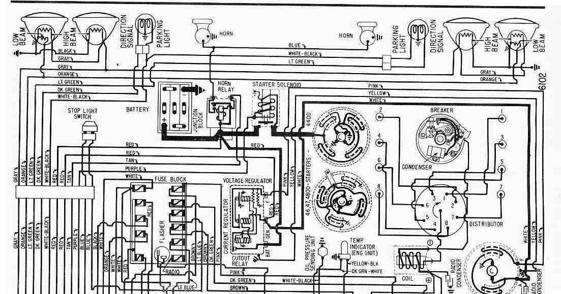 1961 Buick LeSabre, Wildcat, and Electra Wiring Diagram