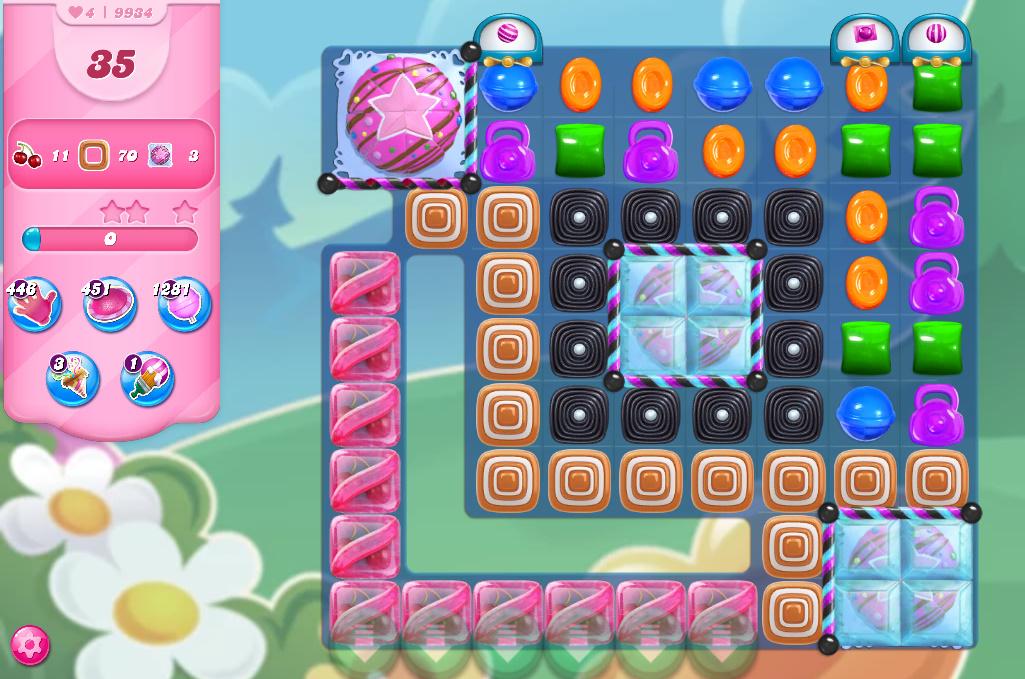 Candy Crush Saga level 9934