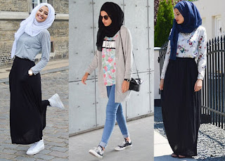 Tips Cara berpakaian modis berjilbab