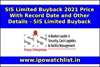 SIS limited buyback