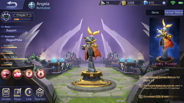 Mastery Code Mobile Legends