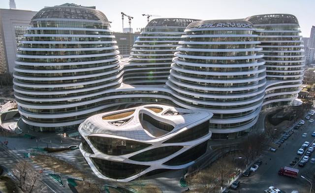Video công trình Galaxy Soho của văn phòng kiến trúc Zaha Hadid