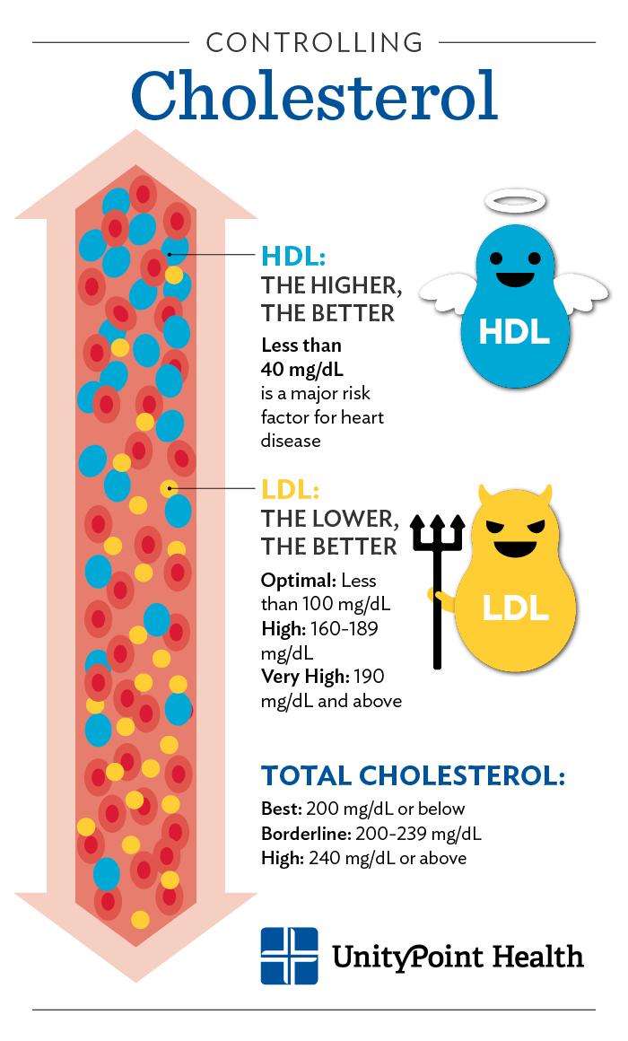 Kolesterol : Antara mitos dan realiti.