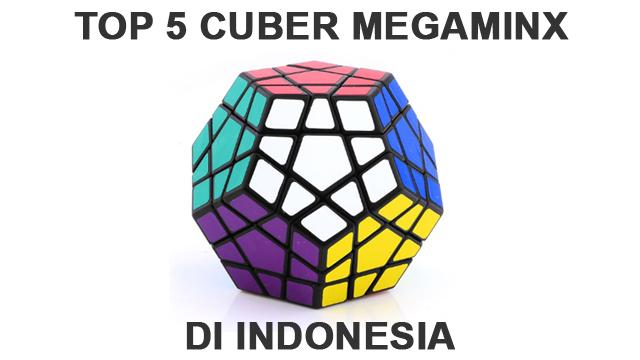 Lima cuber papan atas yang menduduki peringkat lima besar nasional menyelesaikan rubik megaminx