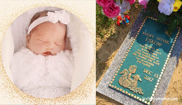getting over the grief of miscarriage - second baby - baby girl - perfect pregnancy - stillbirth - babys heartbeat - baby funeral - open casket- United States - Bacolod mommy blogger - graveyard - tombstone marker - epitaph