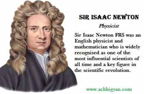 a biography of isaac newton the english physicist and mathematician Isaac newton was an english scientist and mathematician he made major contributions in mathematics and physics (the study of the relationship between matter and energy) and advanced the work of previous scientists on the laws of motion, including the law of gravity.