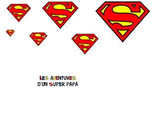 logo super hero  bd livre creation enfant fete des peres titre imprimer
