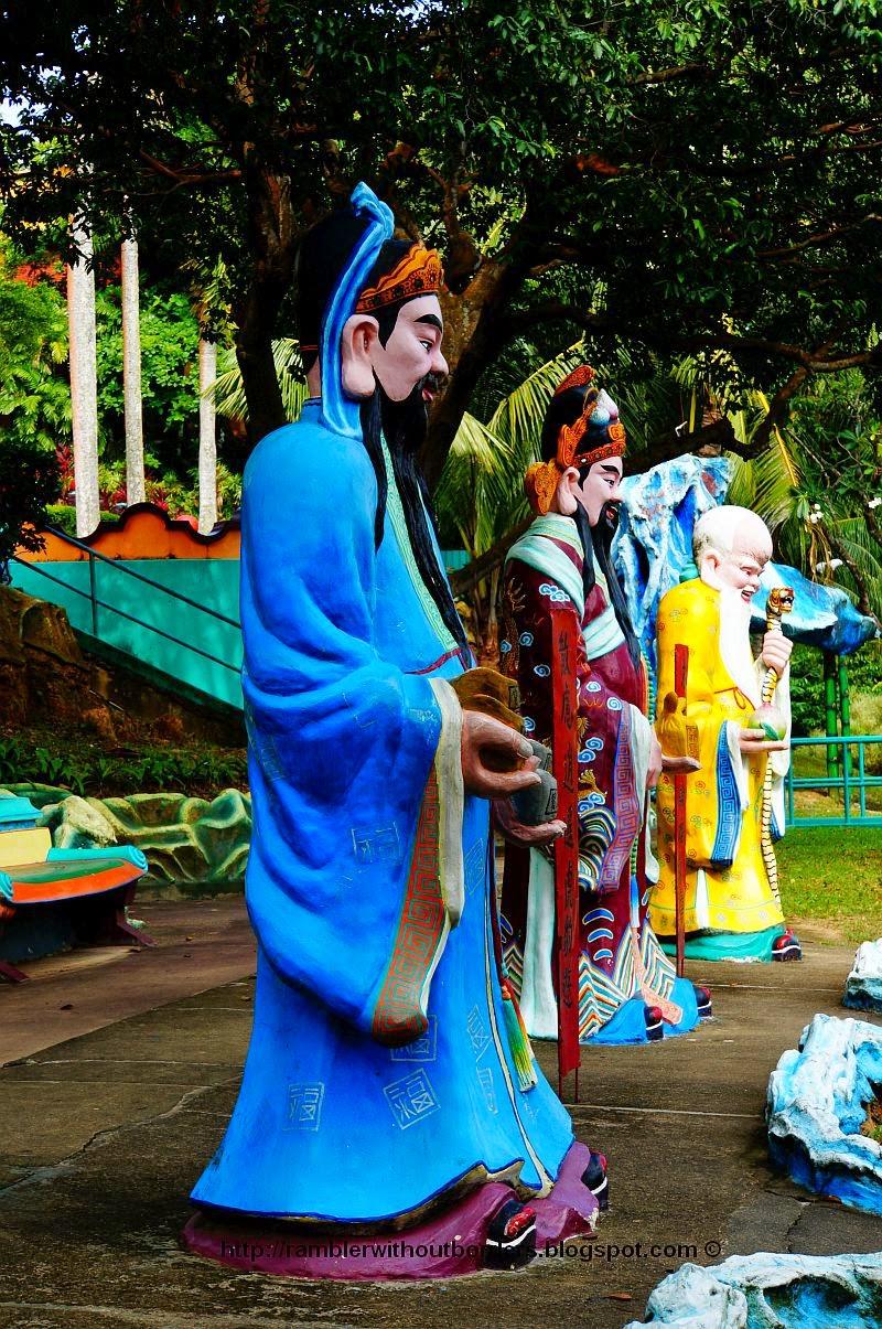 Three Stars of Fu Lu Shou, gods of happines, prosperity and longevity