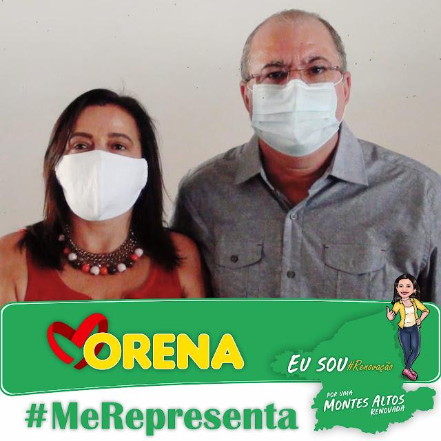 Morena Carreiro pré-candidata a prefeita de Montes Altos, recebe apoio do Deputado Hildo Rocha!!!
