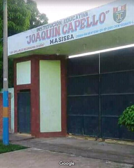 Colegio JOAQUIN CAPELLO - Masisea