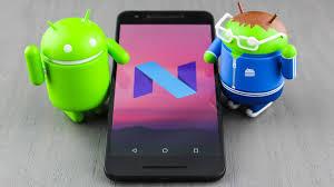 una aplicacion que puede cambiar el estilo de tu smarphone al de android N