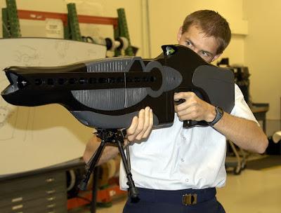 تزعم الصين بأنّها أنتجت بندقية ليزر بإمكانها التسبب بأذية للجسم البشري من مسافة طويلة