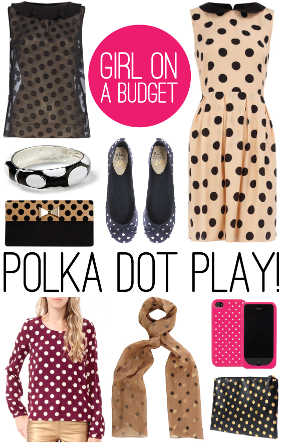 9 Polka Dot Finds under $35 | HelloGlow.co
