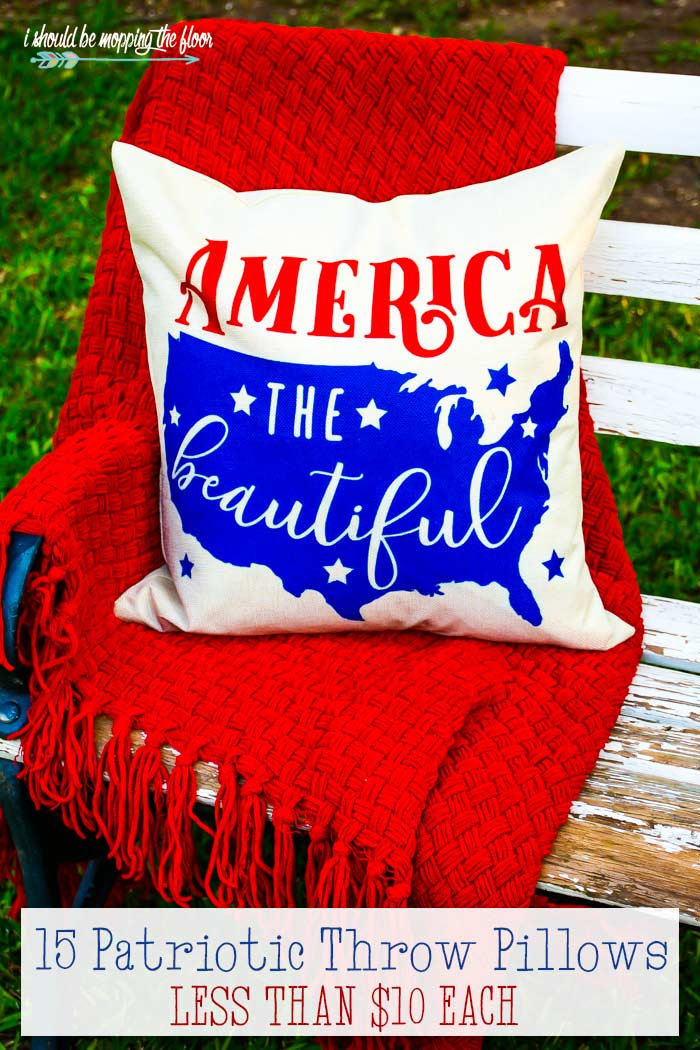 Americana Throw Pillows
