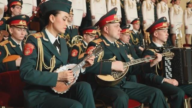 Η Χορωδία του Κόκκινου Στρατού υμνεί την Ελληνική Επανάσταση