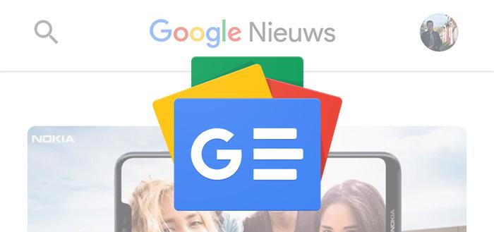 El Nuevo rediseño de Google news