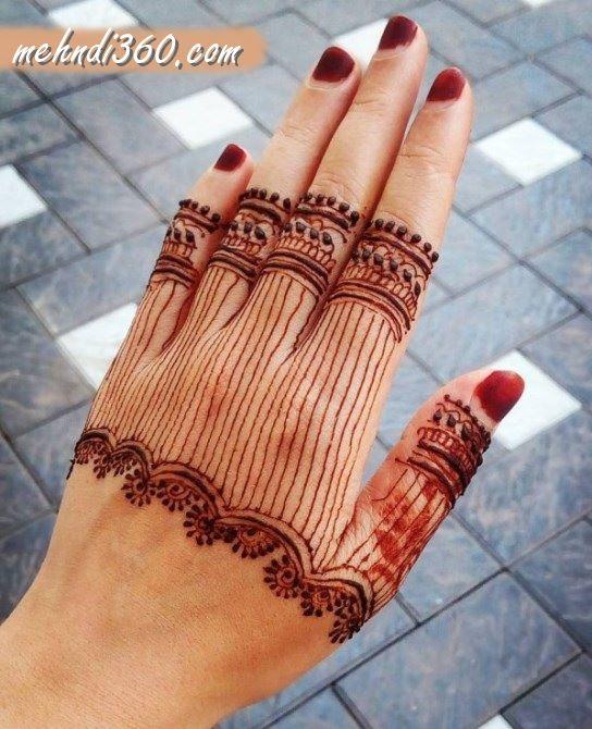 Eid Special Mehndi Designs Back Hand