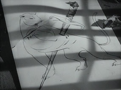 Los perturbadores dibujos de Irena (Simone Simon)