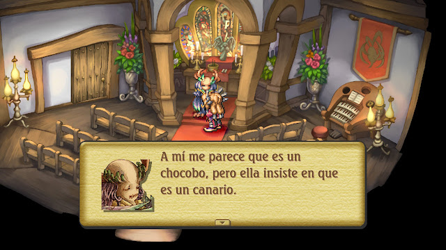 Legend of Mana Remastered - Iglesia