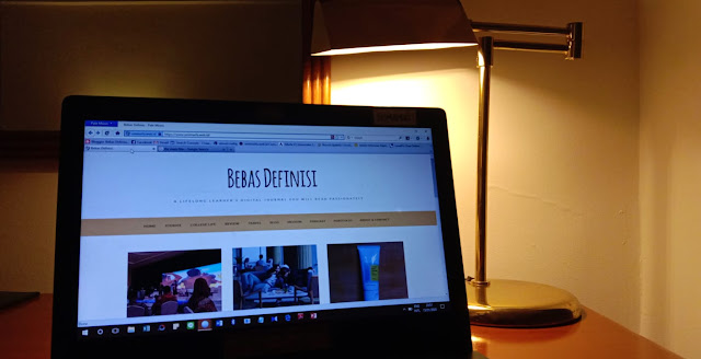 kegiatan blogging
