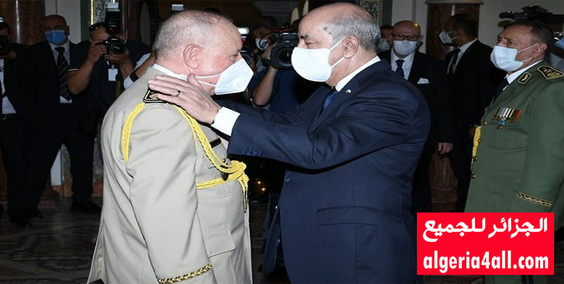 الفريق شنقريحة,الجيش الجزائري / تثبيت الفريق شنقريحة كرئيس لأركان الجيش الوطني الشعبي.منصب رئيس أركان الجيش الوطني الشعبي