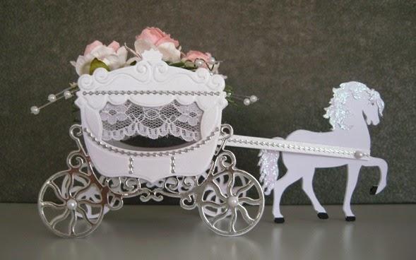 dickchensbastelchaos Hochzeitskutsche