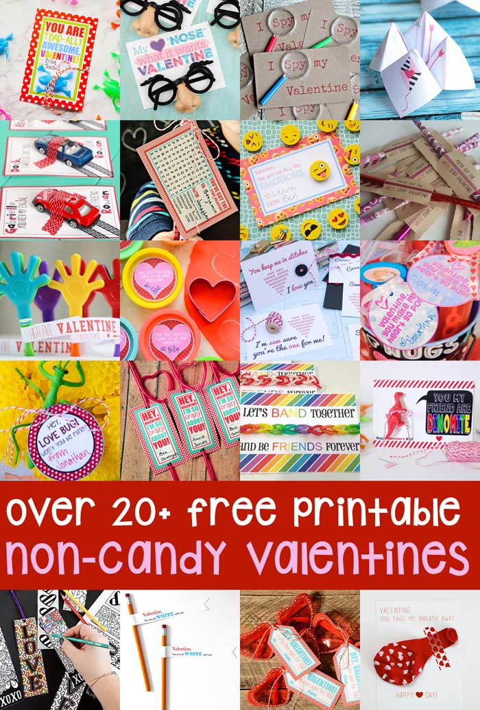 Free Printables for Non-Candy Valentines