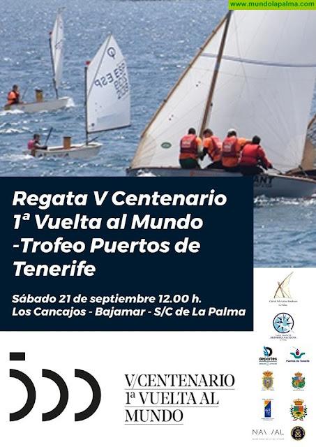 La bandera del V Centenario de la 1ª vuelta al mundo se izará en el Barco de La Virgen