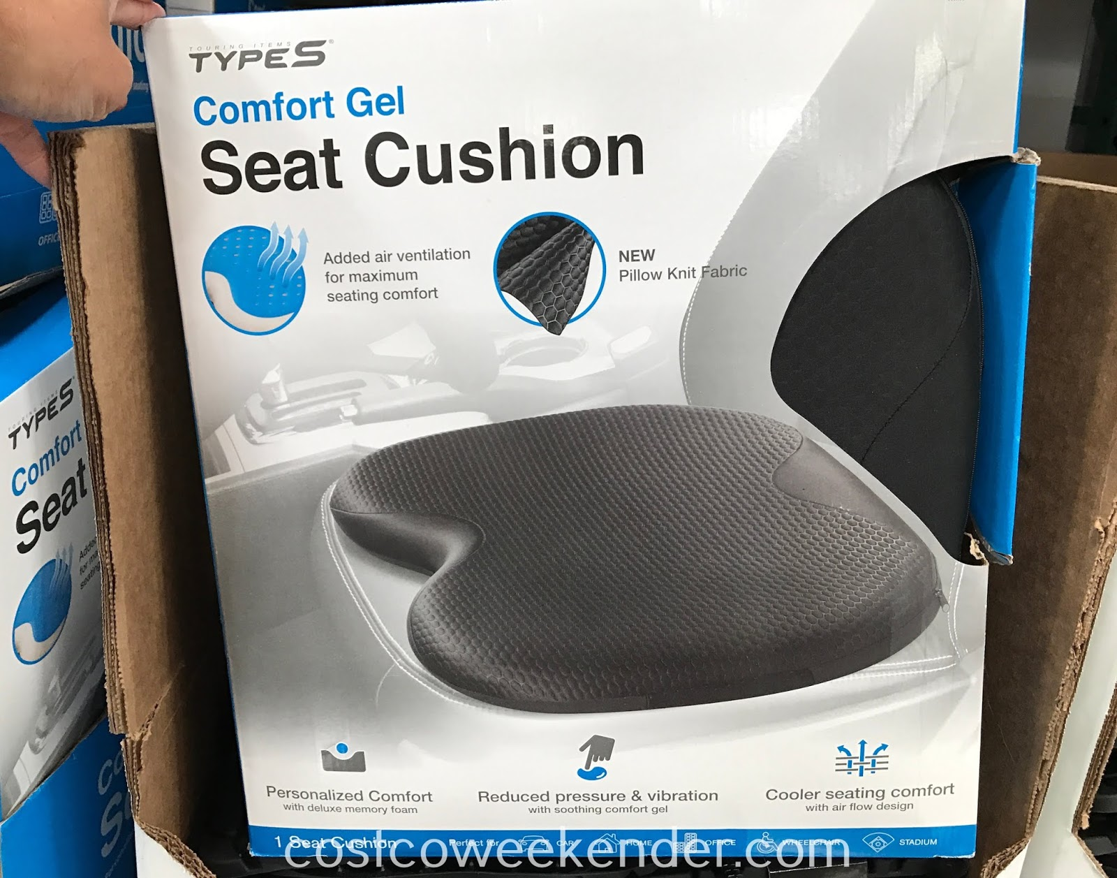 Type S Comfort Gel Seat Cushion Costco Weekender