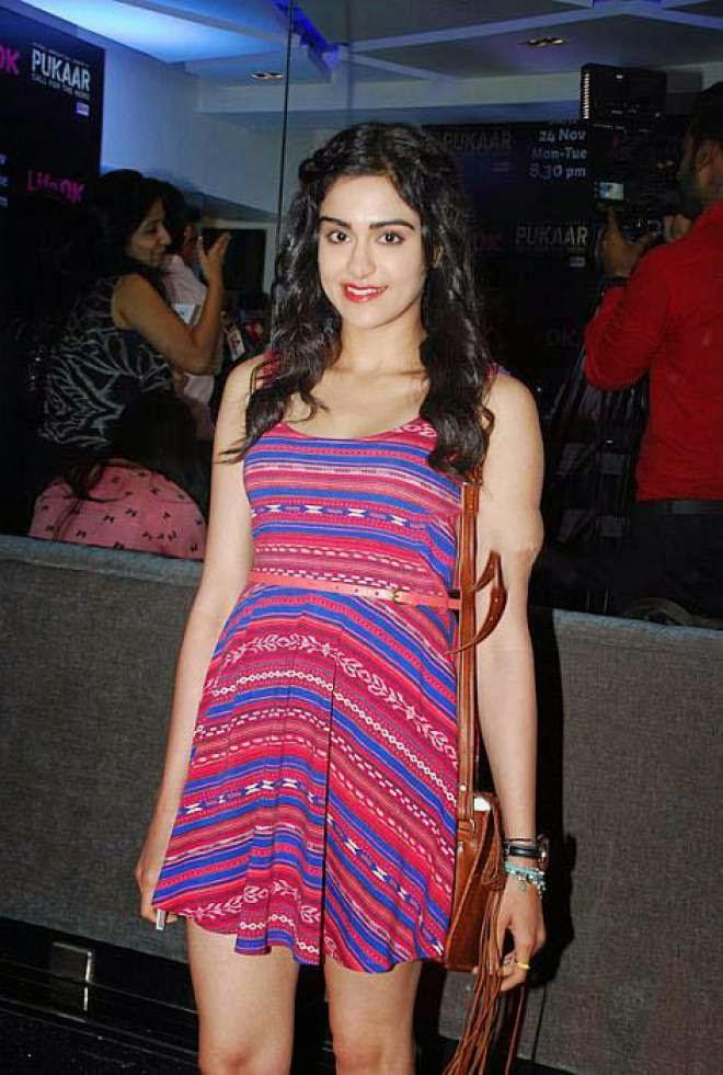 Adah Sharma Latest Hot Short Mini Dress Photos