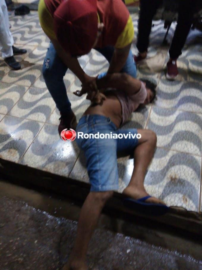 DEU RUIM - Assaltante é desarmado por funcionário durante roubo em panificadora